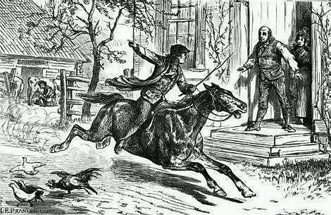 paul revere midnight ride poem. Paul Revere Music